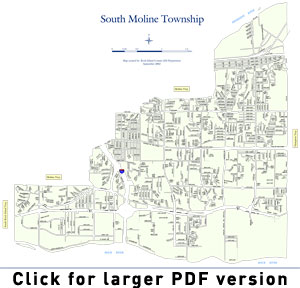 South Moline Township Map